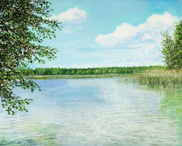 Lac près de Muencheberg sur Art Demo