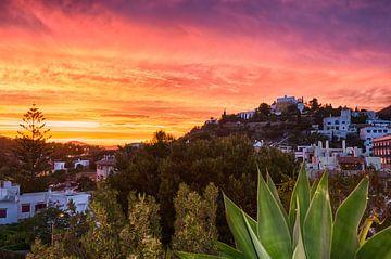 Avondrood Ibiza van Mark Bolijn