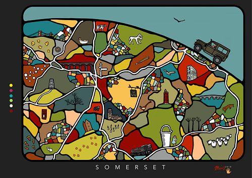Mesmerising Somerset van