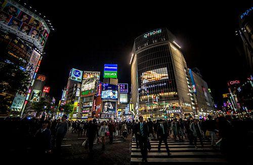 Shibuya Kruising van