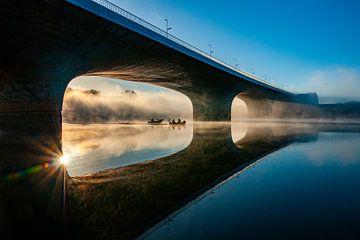 Spiegelwaal Nijmegen van