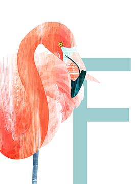 F - Flamingo von Goed Blauw