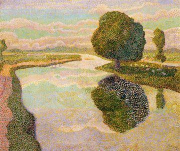 Paysage avec canal, Jan Toorop