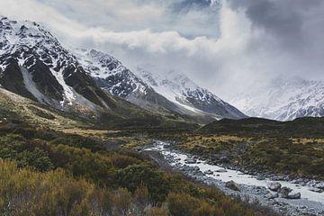 Hooker Valley Mount Cook National Park van Tom in 't Veld