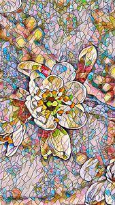 Kirschblüte Mosaik von Patricia Piotrak