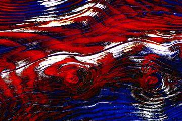 Holz in Rot & Weiß & Blau von De Rover