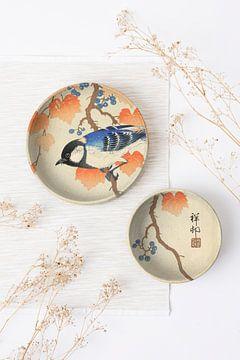 Still Life with Dishes - Japan van Marja van den Hurk