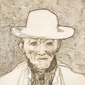 Vincent van Gogh. Bewoner van de Camargue van 1000 Schilderijen