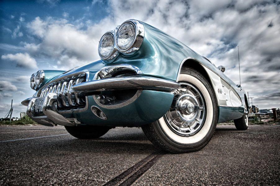 Chevrolet Corvette 1959 van Wim Slootweg