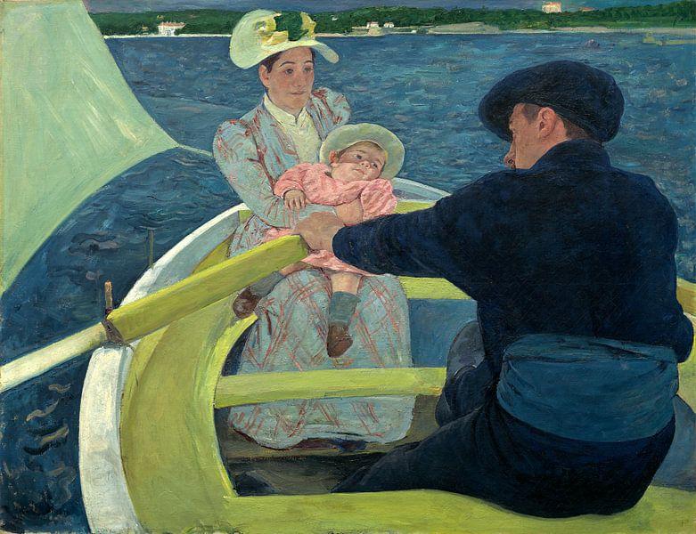 De Roei partij, Mary Cassatt