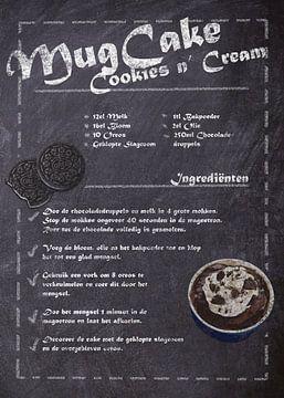 Dessert-Rezept - Becherkuchen von JayJay Artworks