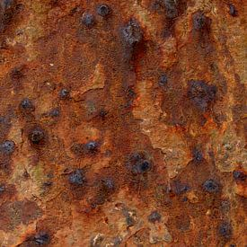 Roest op beton van Carla van Zomeren