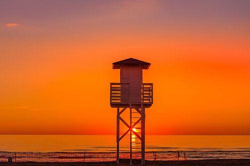 Sunrise in Gandia Spain