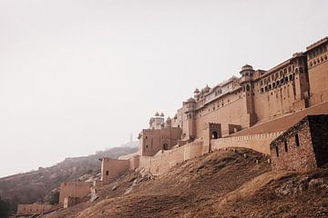Fort d'ambre (Ajmer) | Jaipur | Rajasthan | Inde sur Lotte van Alderen