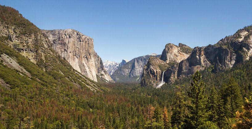 Tunnel View, Yosemite National Park van Dirk Jan Kralt