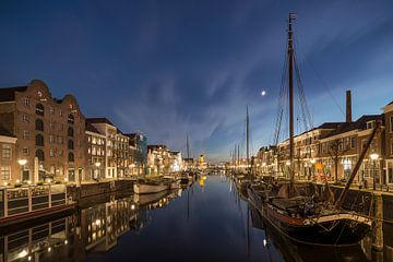 Delfshaven Rotterdam The Netherlands sur Peter Bolman
