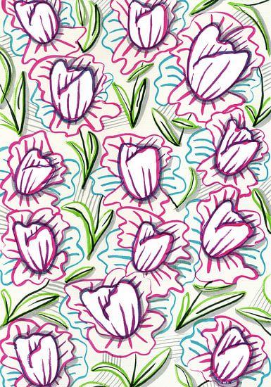 Tulip Out van Eva van den Hamsvoort