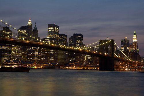 Brooklyn Bridge, Skyline New York