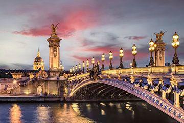 Romantisch Parijs van Manjik Pictures