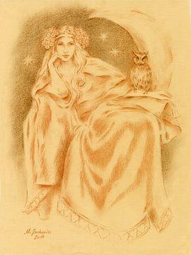 Lilith déesse de la mythologie sumérienne sur Marita Zacharias