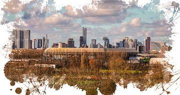 "Feyenoord ART Rotterdam Stadion ""De Kuip"" Varkenoord van MS Fotografie | Marc van der Stelt"