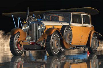 Bentley Stearman Modell 75 aus dem Jahr 1936, das legendäre Luxusauto
