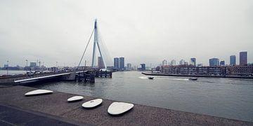 Rotterdam Rain von Bart van der Worp