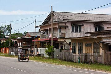 Riksja in Maleisië  von William Boer
