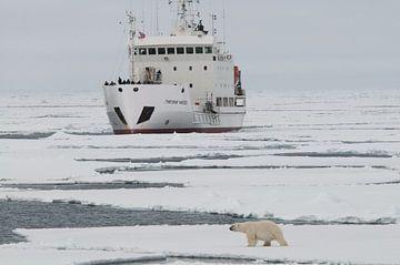 IJbeer    en expeditieschip  rond Spitsbergen van