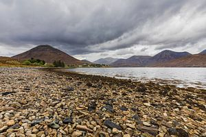 Loch Sligachan, Isle-of-Skye Schotland