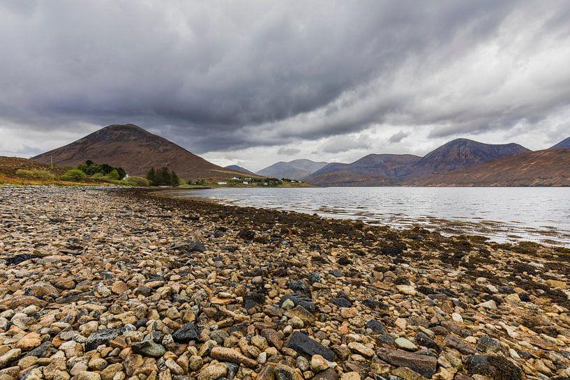 Loch Sligachan, Isle-of-Skye Schotland van Remco Bosshard
