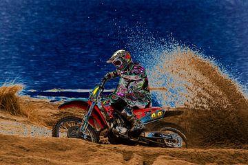 Motorcross 2 van Eddy Verveer