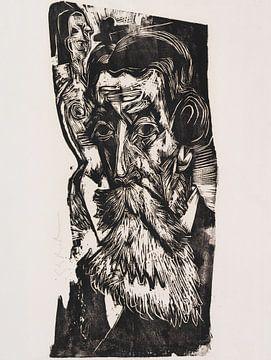 Kopf Ludwig Schames, ERNST LUDWIG KIRCHNER, 1918