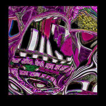 Purple Piano van Jolanda Jouvenaar