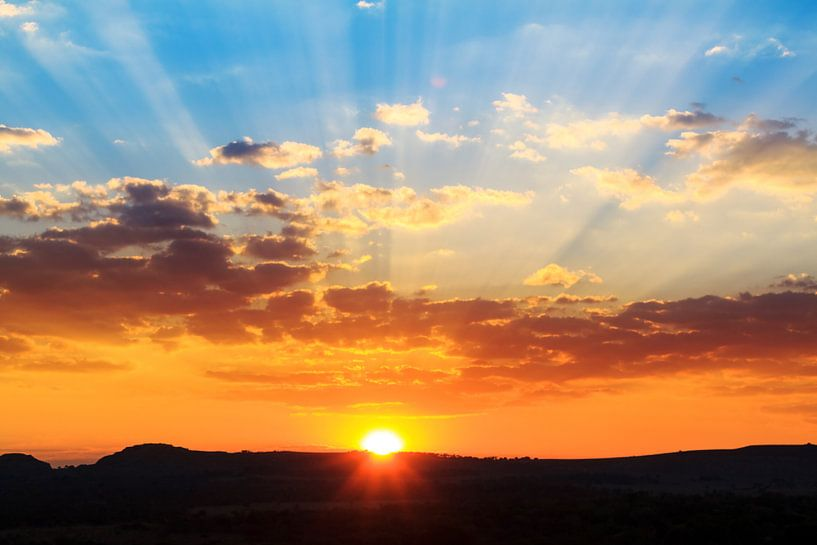 Madagaskar Sunset sur Dennis van de Water
