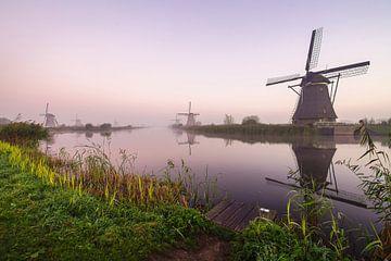 Molens Kinderdijk sur Dirk van Egmond