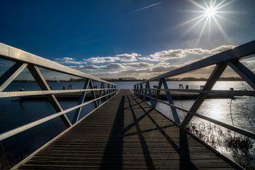 Brücke zu einer Ansicht. von Aart Prikker