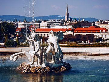 Wien - Schloss Belvedere / Schlossgarten sur Alexander Voss