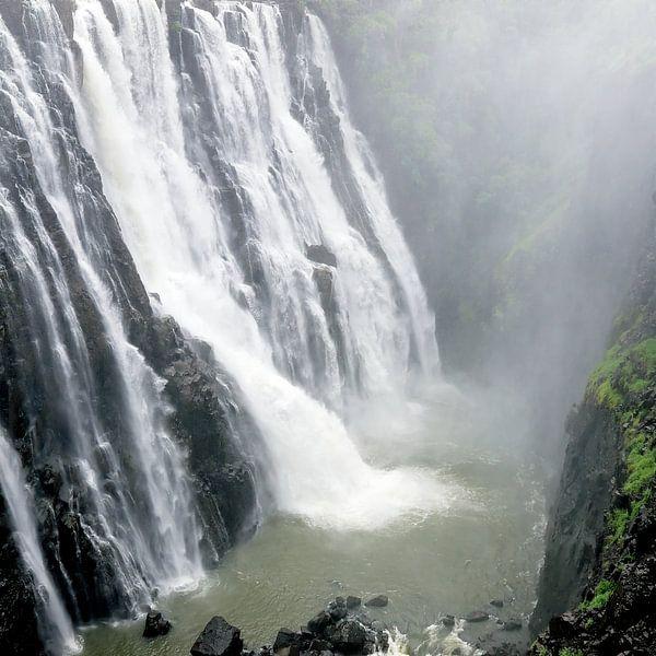 Victoria watervallen III van Evert Jan Luchies