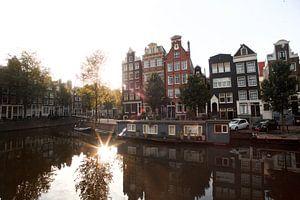 Amsterdam houses.