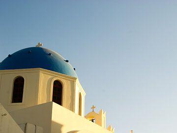 Santorini kerk  van photographili _