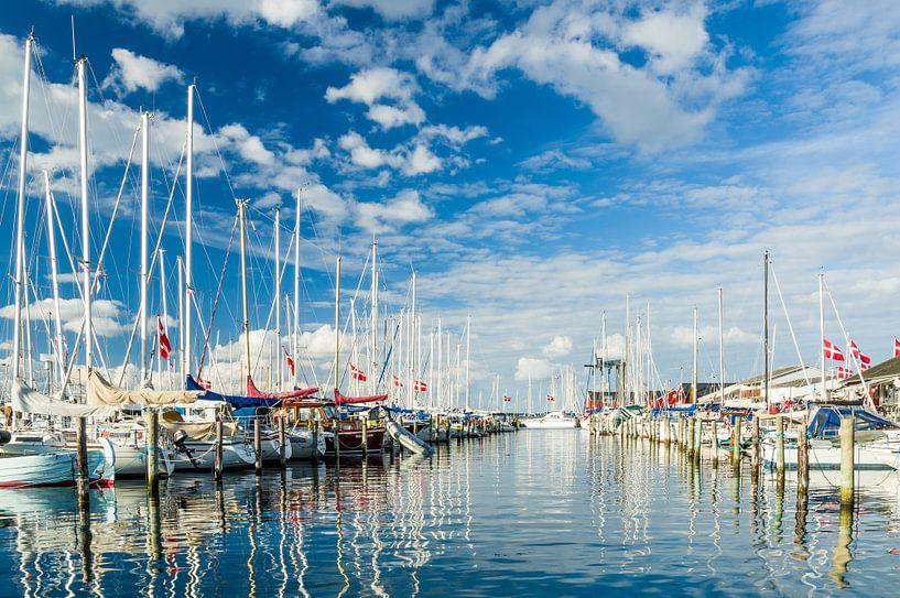 De Jachthaven van Juelsminde sur Tony Buijse