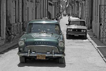 Ford Consul - Oldtimer in Havanna (Kuba) von t.ART