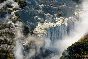 De Victoria watervallen van