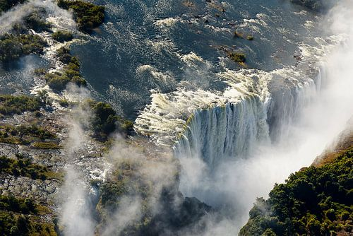 De Victoria waterval van