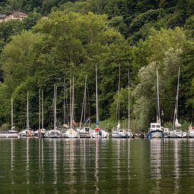 Segelboote auf dem Caldonazzosee von KB Design & Photography (Karen Brouwer)