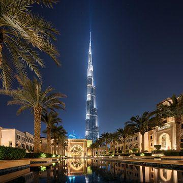 Dubai Spiegelung von Stefan Schäfer