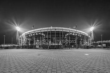 Feyenoord Rotterdam stadion de Kuip 2017 - 8 van
