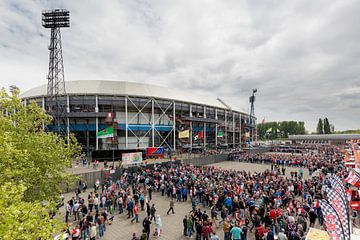Stadion Feyenoord / De Kuip Kampioenswedstrijd II sur Prachtig Rotterdam