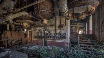 Vernachlässigte und verlassene Fabrik von Atelier Liesjes